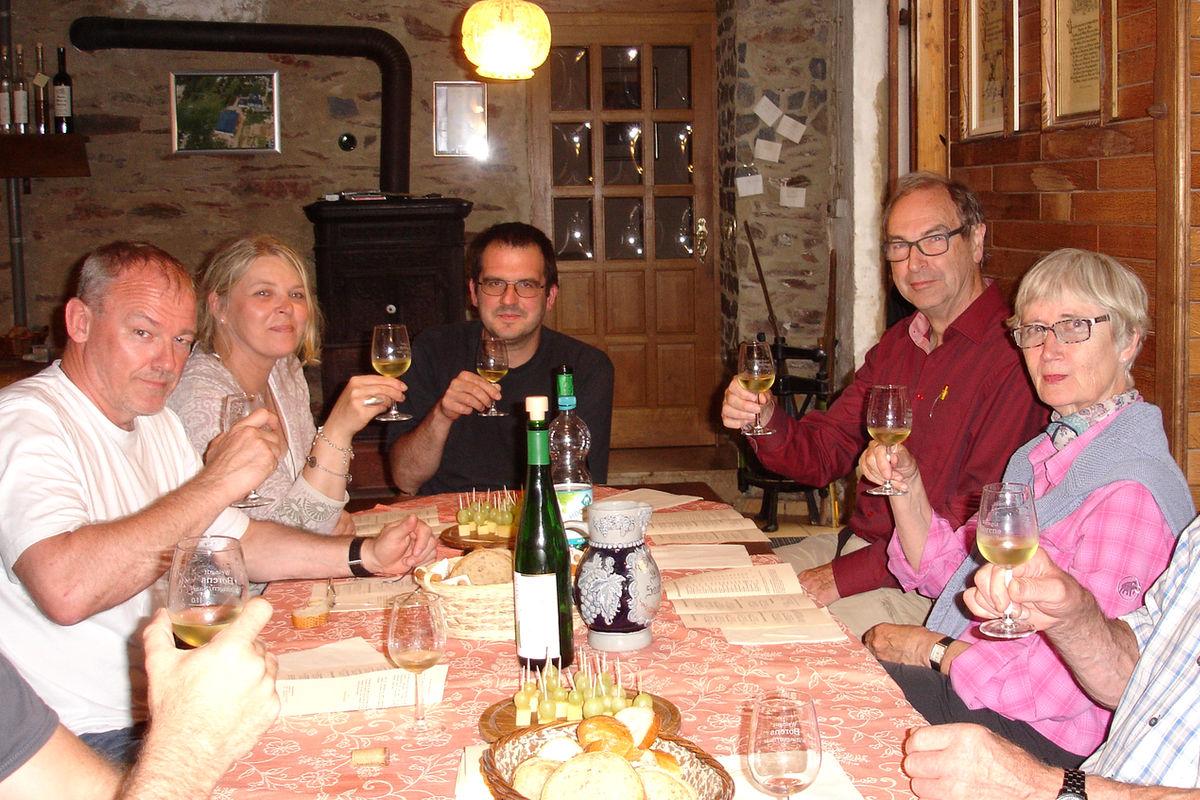 Weinprobe Probierstube Weingut an der Saar, Weingut Borens